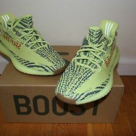 promo code 520a1 4df6b Yeezy Boost 350 V2 Semi Frozen Yellow Unisex!! NWT
